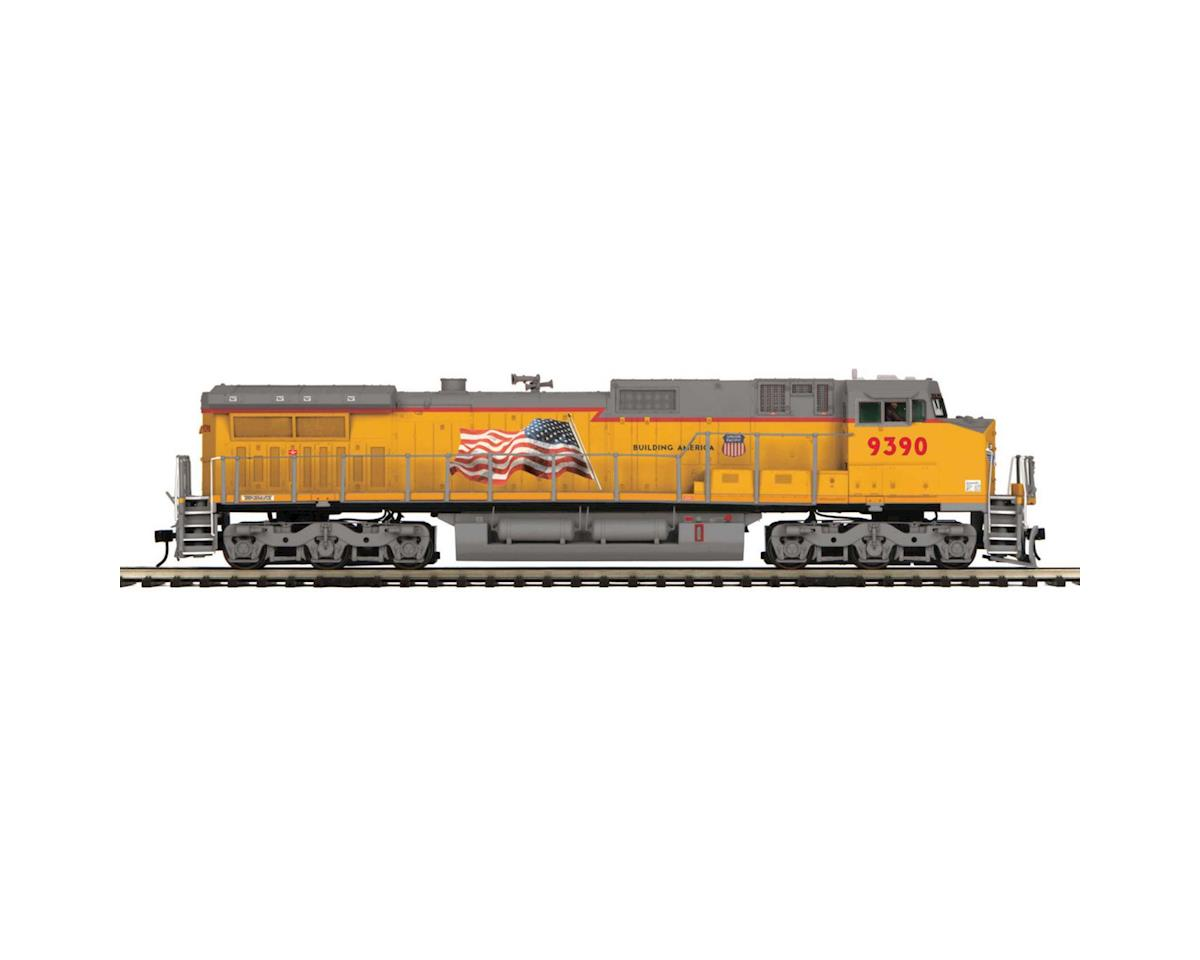 MTH Trains O Hi-Rail Dash-8 w/PS3, UP #9390