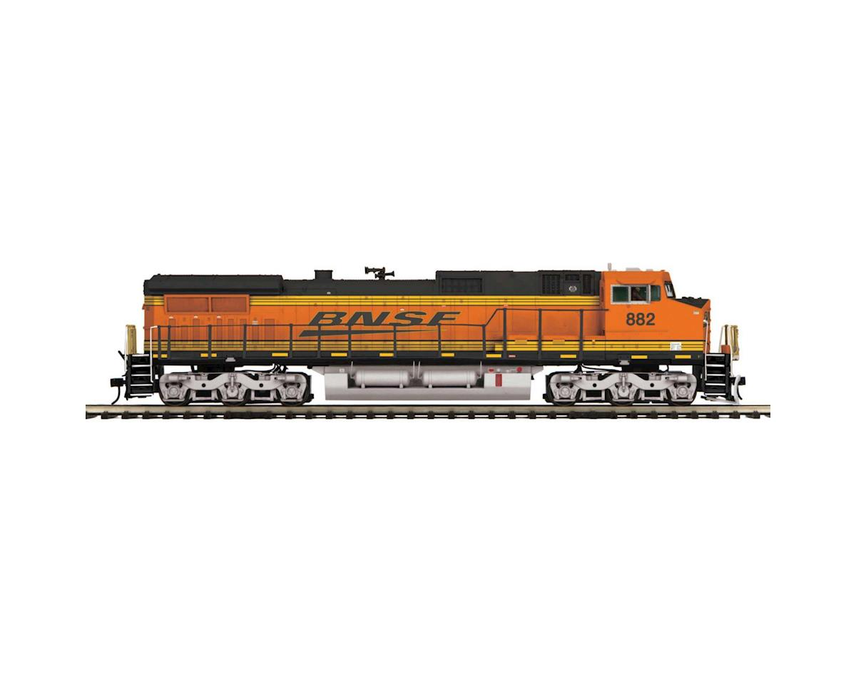 MTH Trains O Hi-Rail Dash-8 w/PS3, BNSF #882
