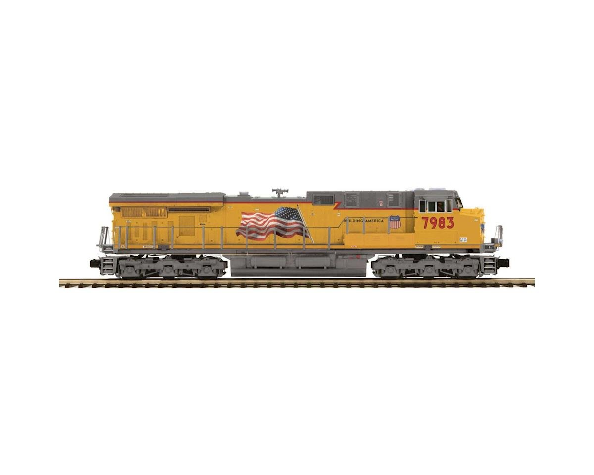 O Hi-Rail ES44AC w/PS3, UP #7983 by MTH Trains