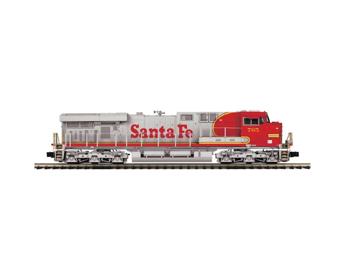 O Hi-Rail ES44AC w/PS3, SF #765 by MTH Trains