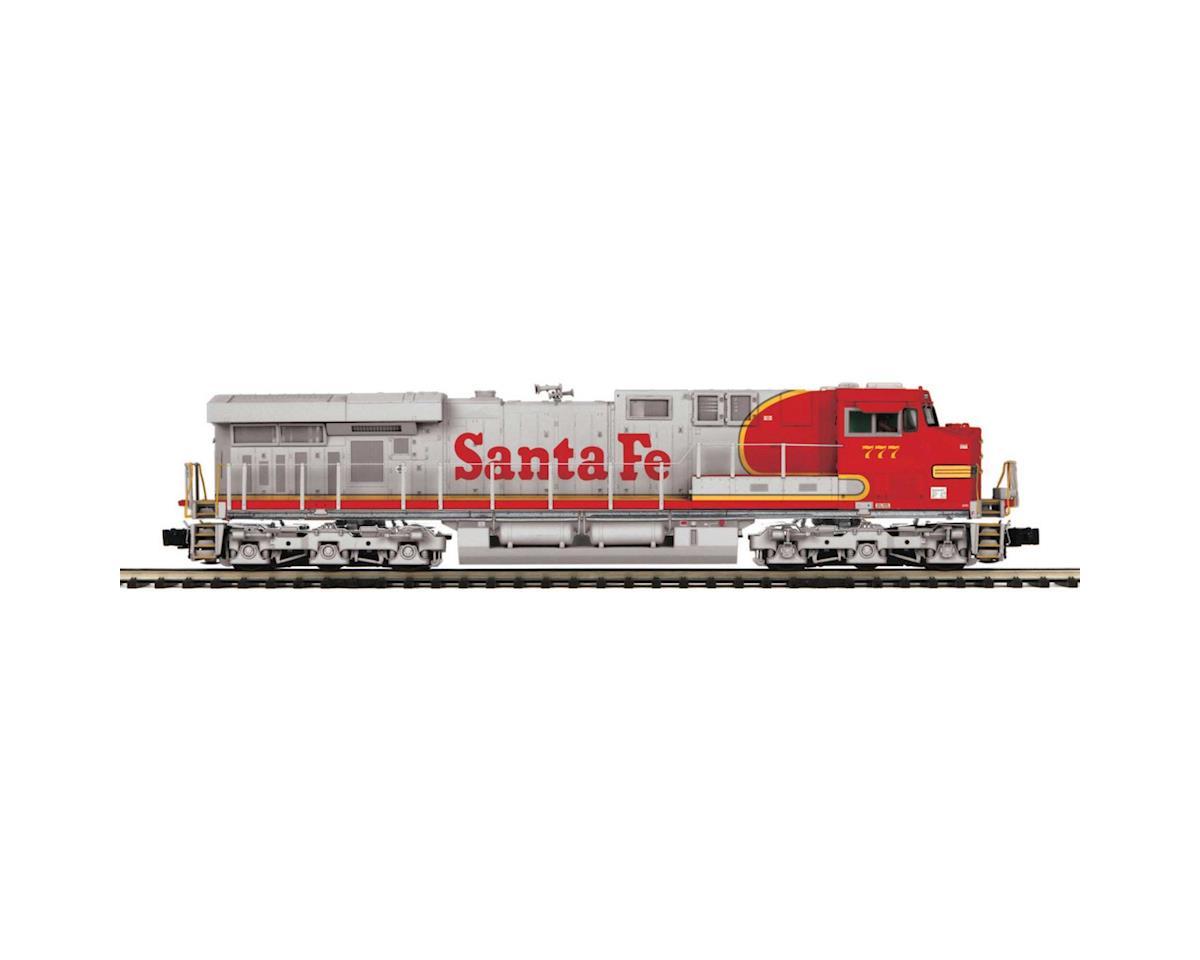 O Hi-Rail ES44AC w/PS3, SF #777 by MTH Trains