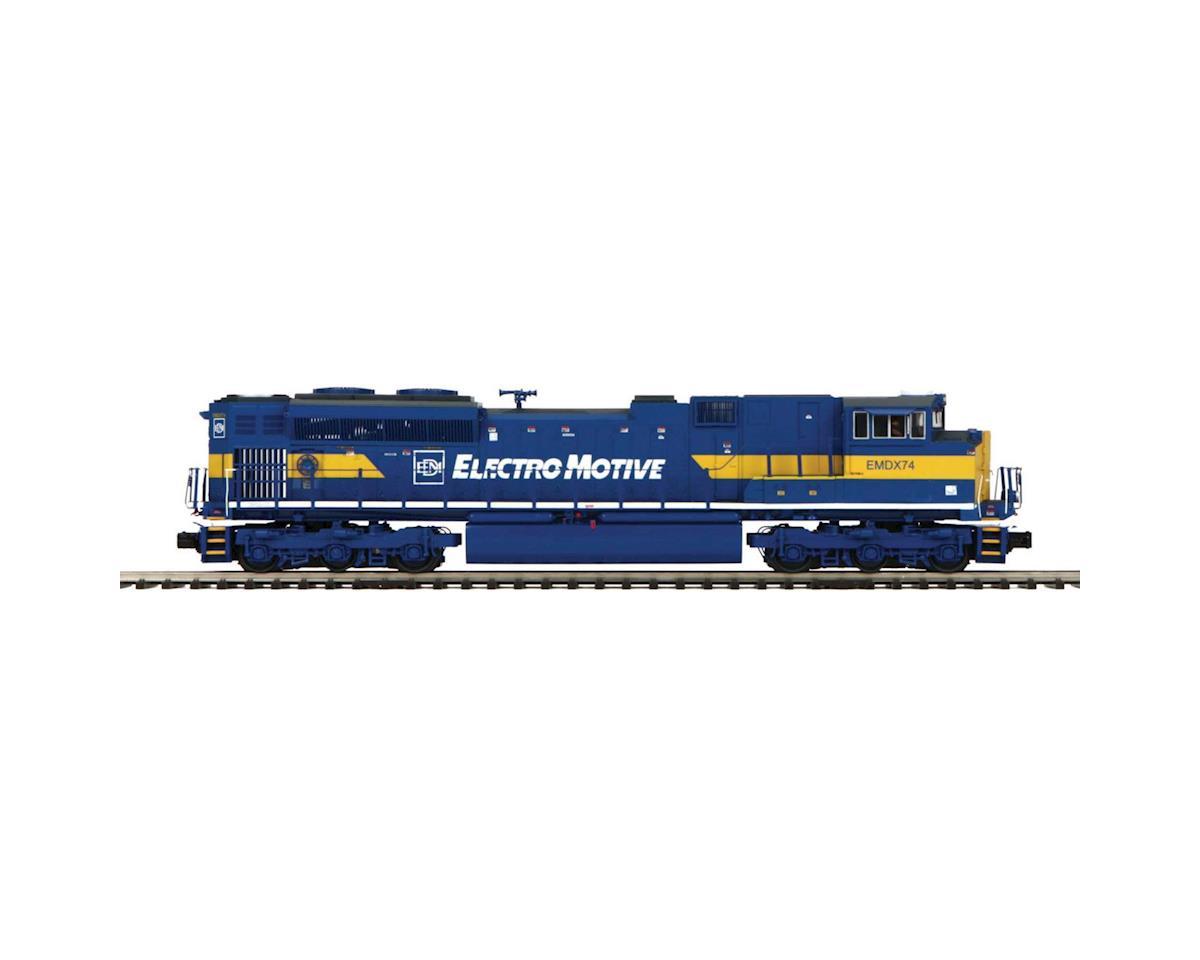 MTH Trains O Hi-Rail SD70M-2 w/PS3, EMD #EMDX74