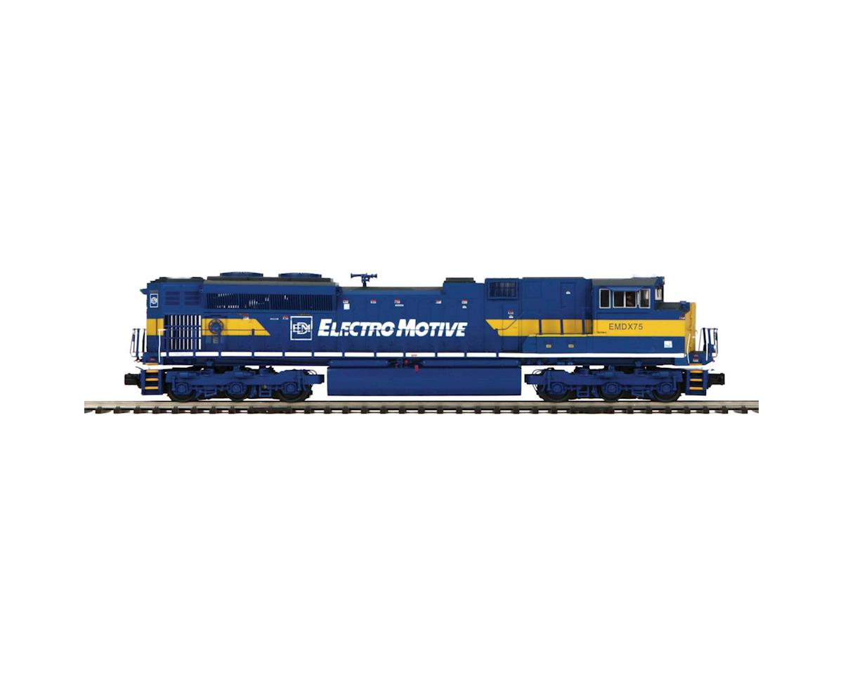 MTH Trains O Hi-Rail SD70M-2 w/PS3, EMD #EMDX75