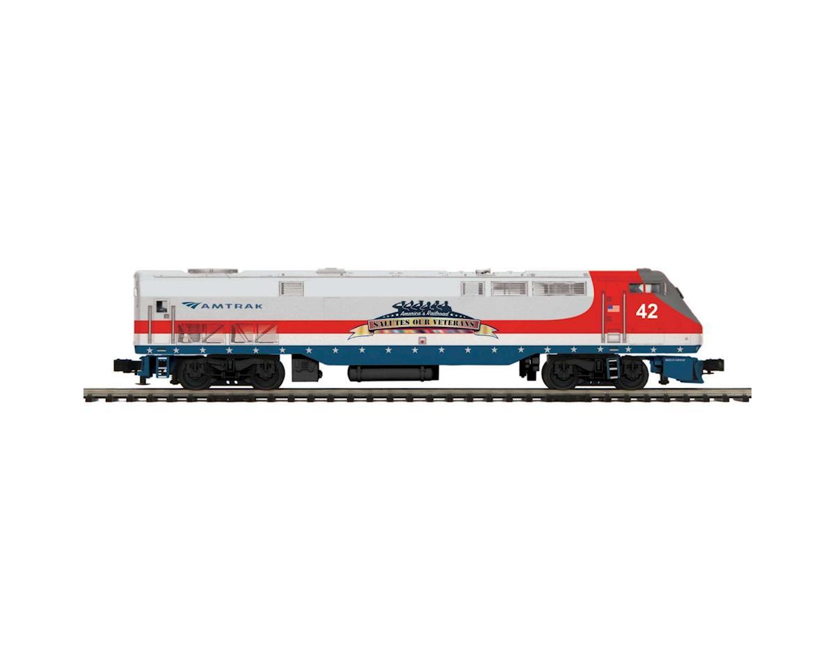 MTH Trains O Genesis w/PS3, Amtrak #42