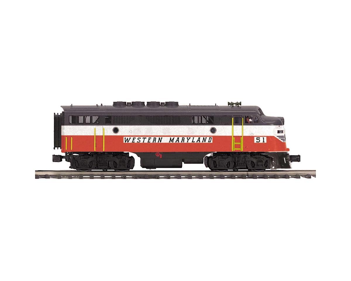 O Hi-Rail F3A w/PS3, WM #51 by MTH Trains