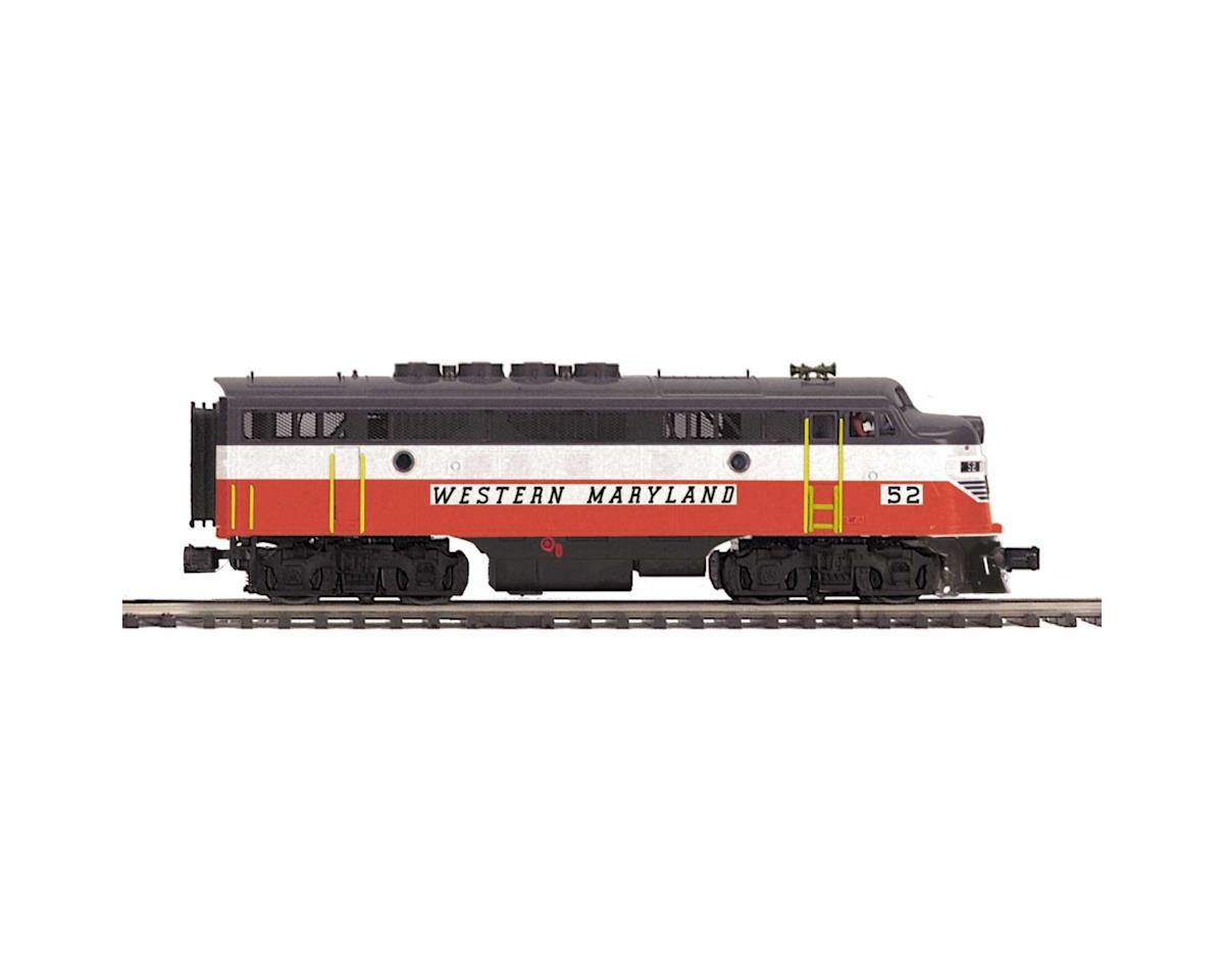 MTH Trains O Hi-Rail F3A Dummy,WM #50