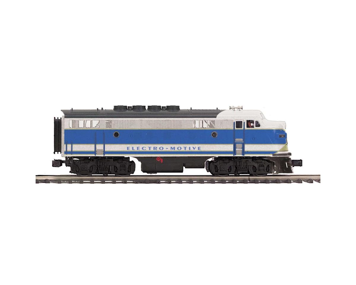 MTH Trains O Hi-Rail F3A Dummy, EMD #754B2