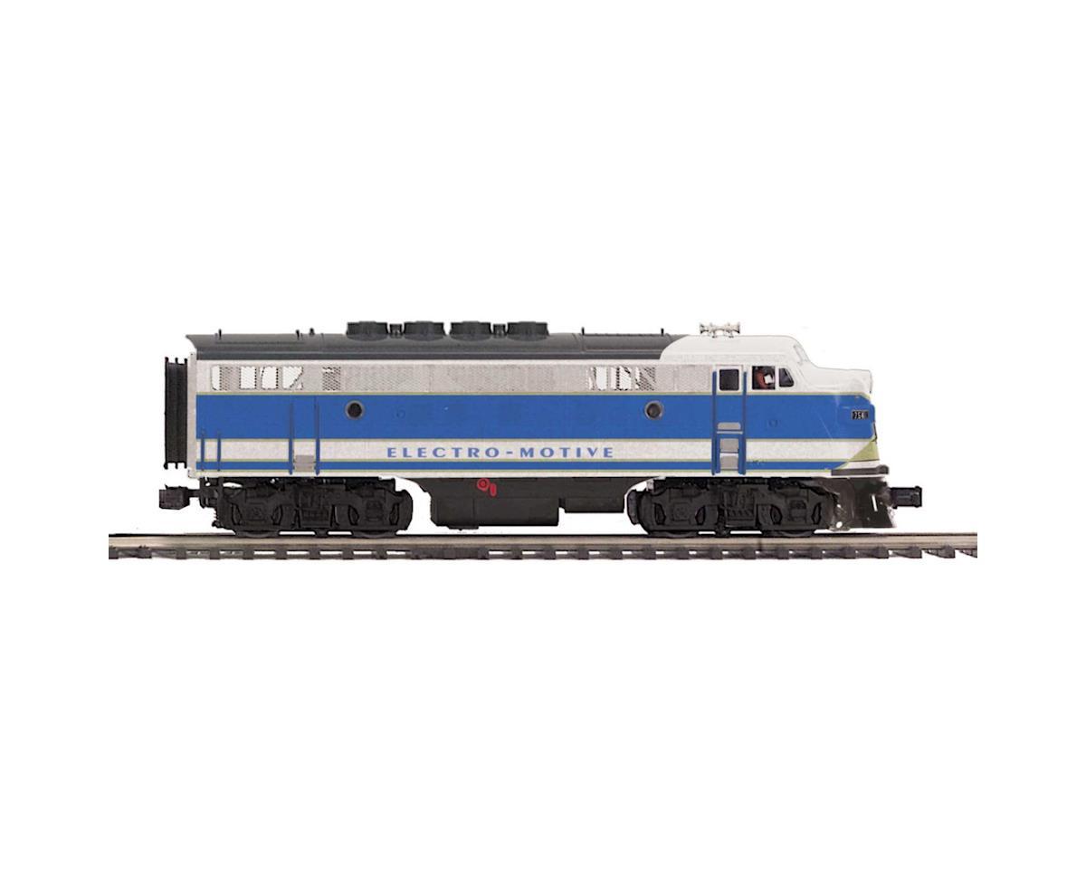 MTH Trains O Hi-Rail F3A Dummy, EMD #754B2