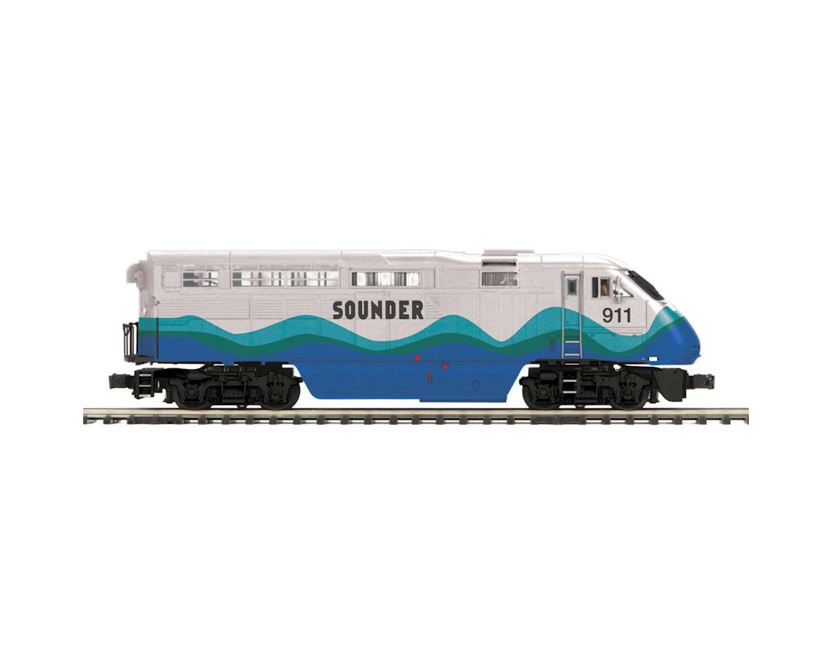 MTH Trains O F59PHI w/PS3, Sounder #911