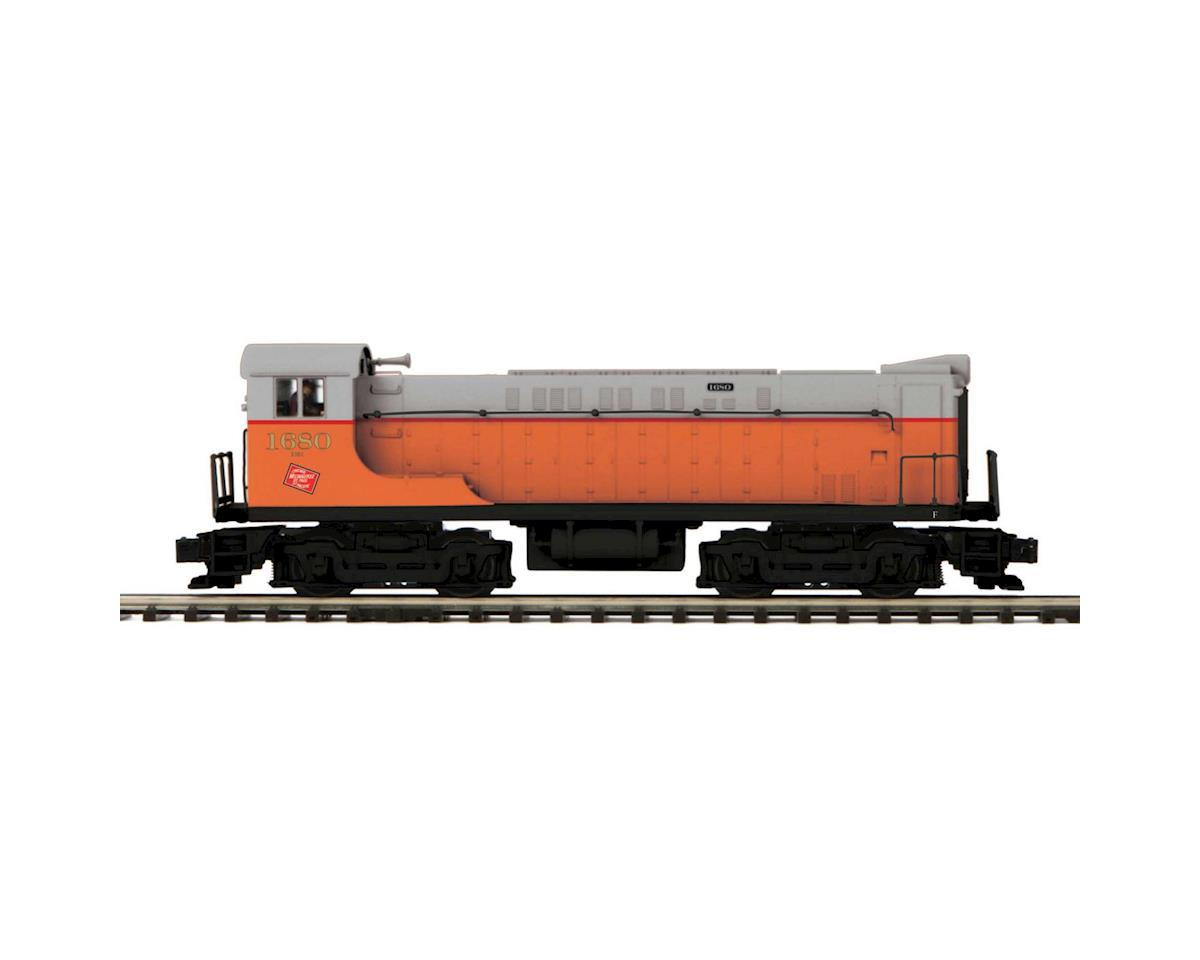 MTH Trains O VO 1000 w/PS3, MILW #1680