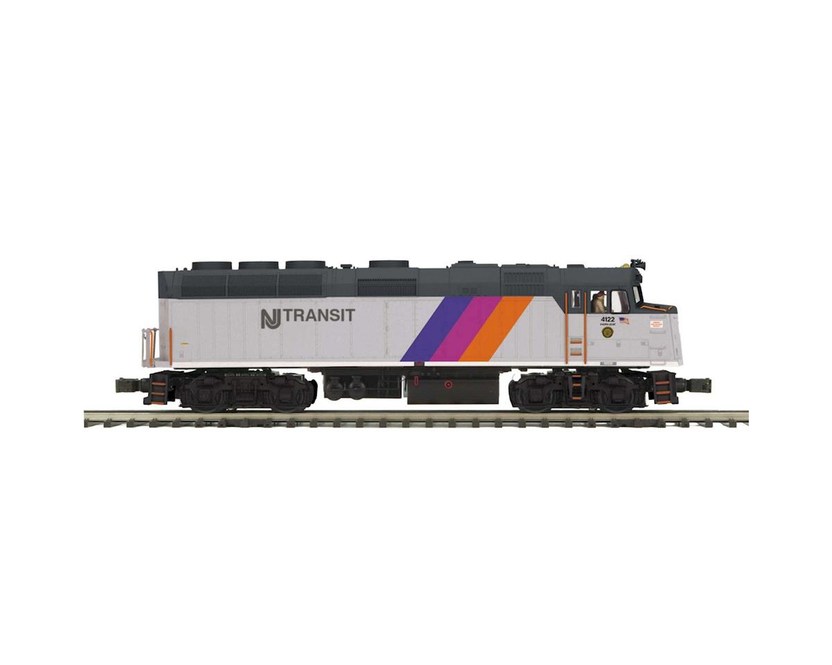 MTH Trains O Hi-Rail F40PH w/PS3, NJT #4122