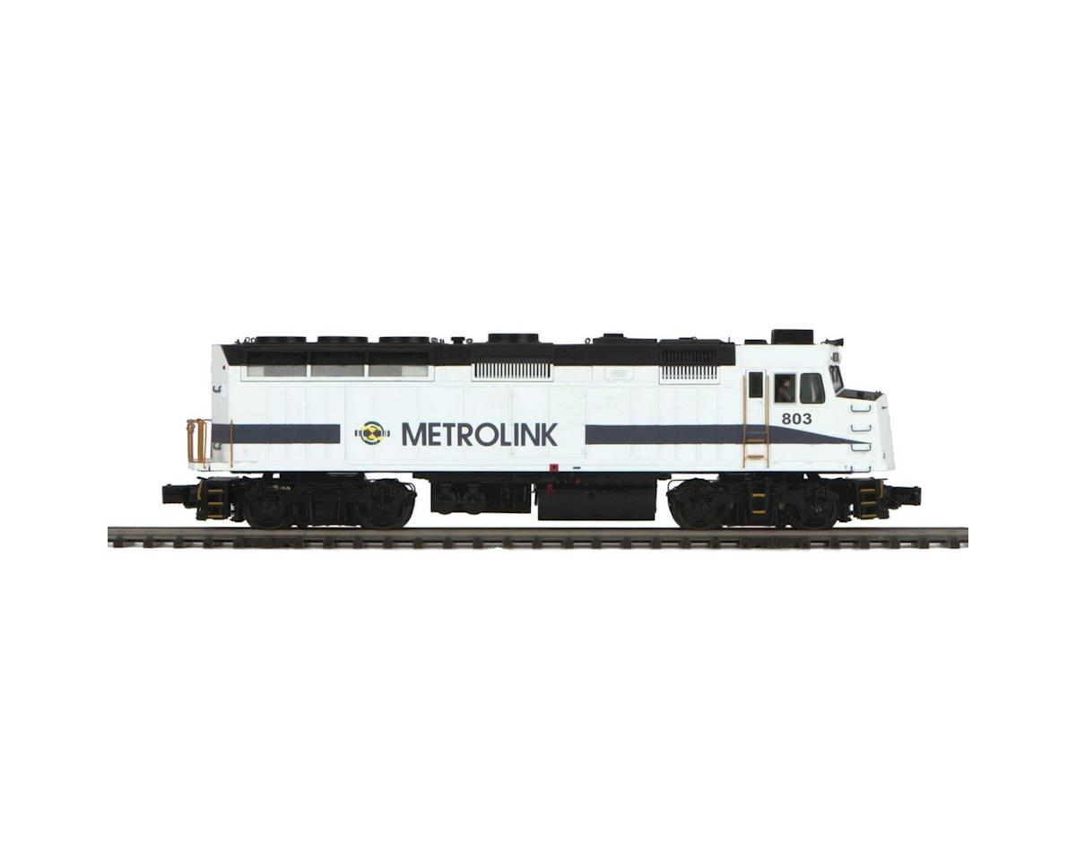 MTH Trains O Hi-Rail F40PH w/PS3, Metrolink #803