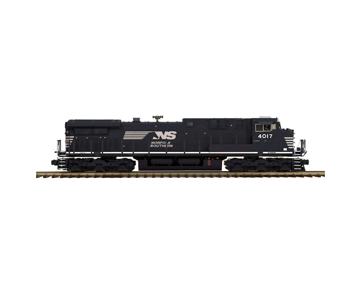 MTH Trains O Hi-Rail AC4400cw w/PS3, NS #4017