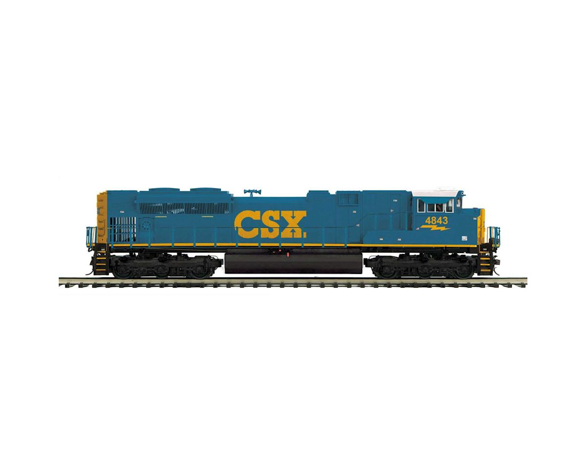 O Hi-Rail SD70ACe w/PS3, CSX #4843 by MTH Trains