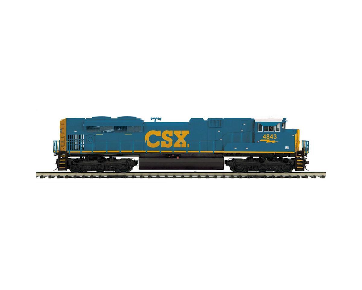 MTH Trains O Hi-Rail SD70ACe w/PS3, CSX #4843