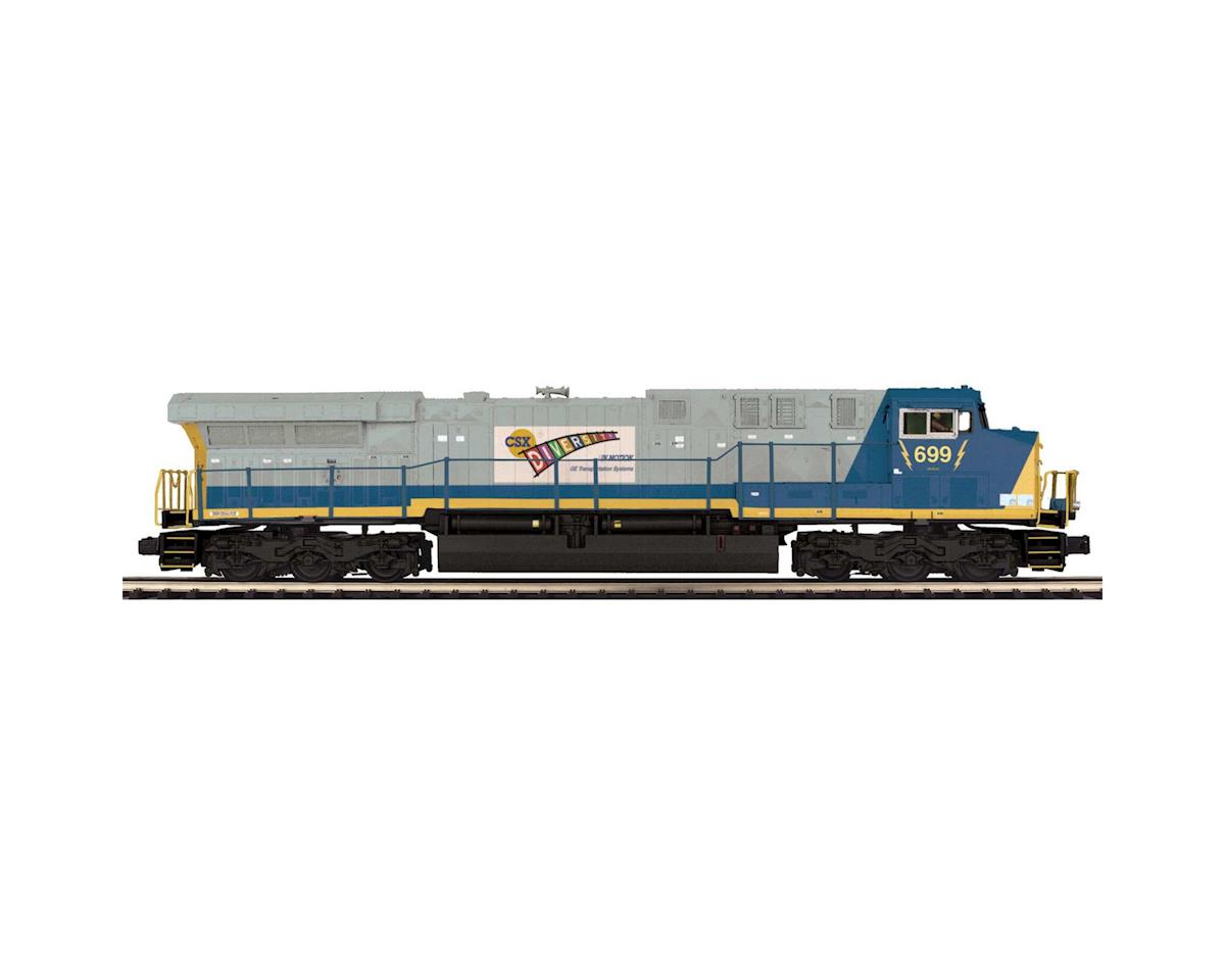 MTH Trains O AC6000 w/PS3, CSX #699