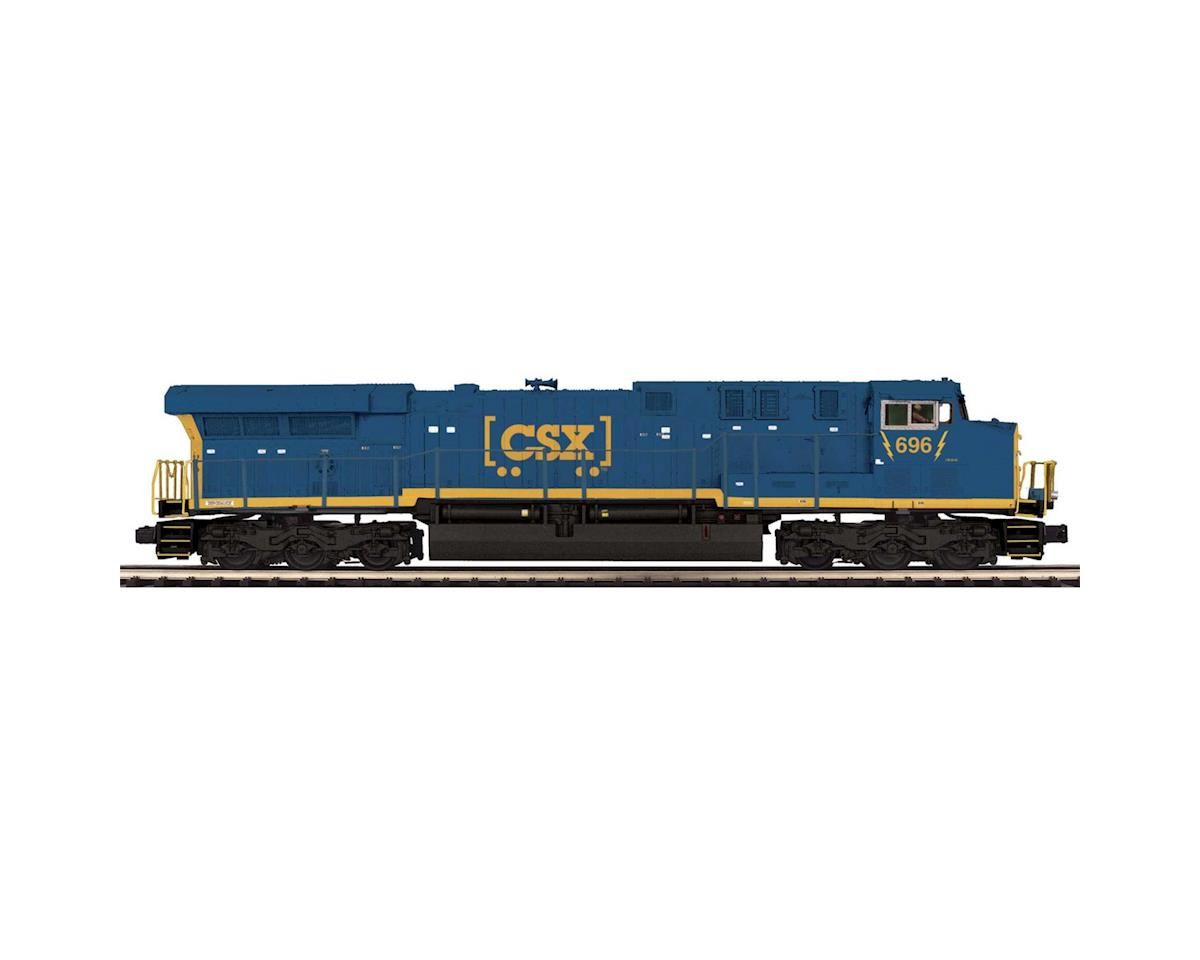MTH Trains O AC6000 w/PS3, CSX #696