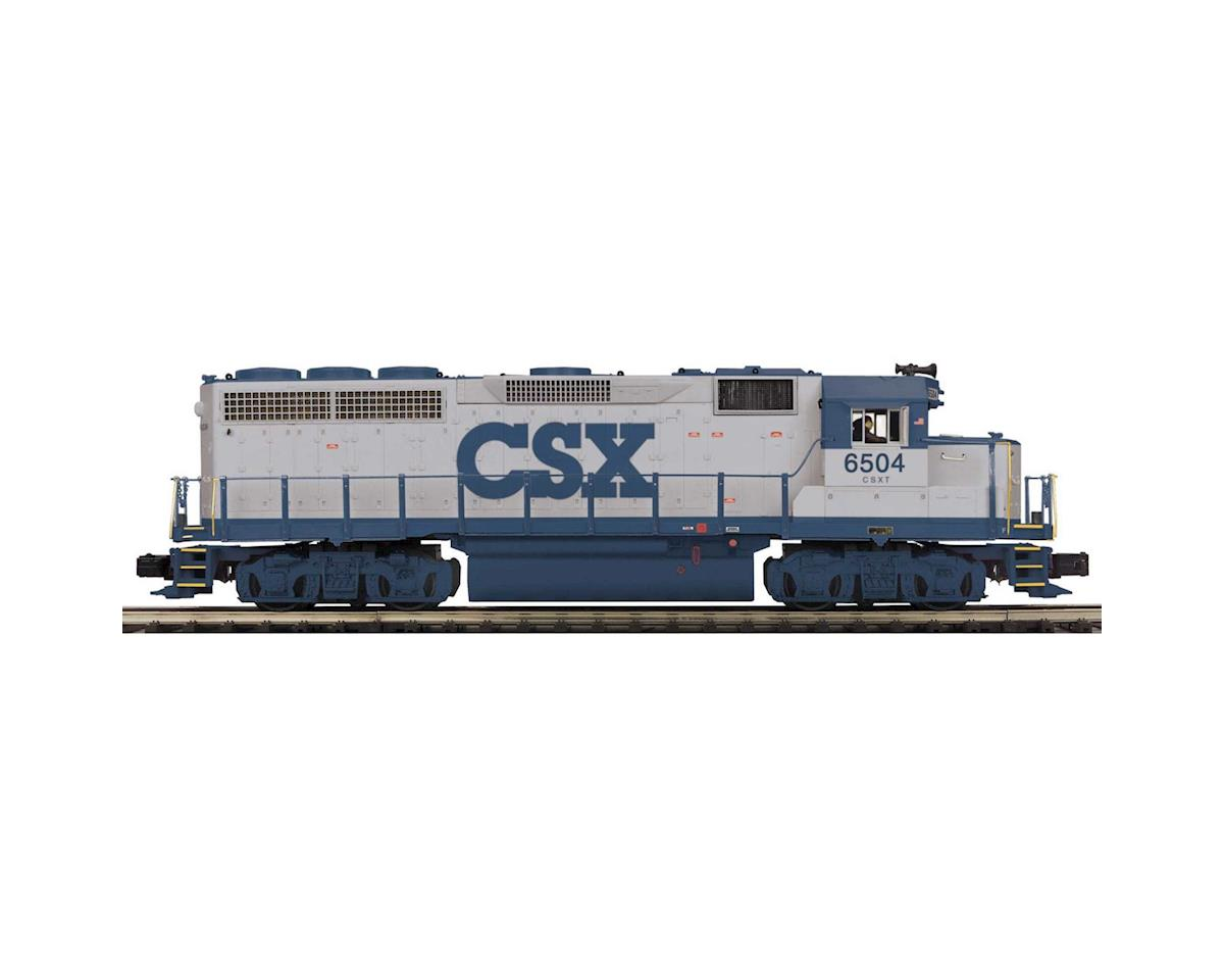 O Hi-Rail GP-40 w/PS3, CSX #6504 by MTH Trains