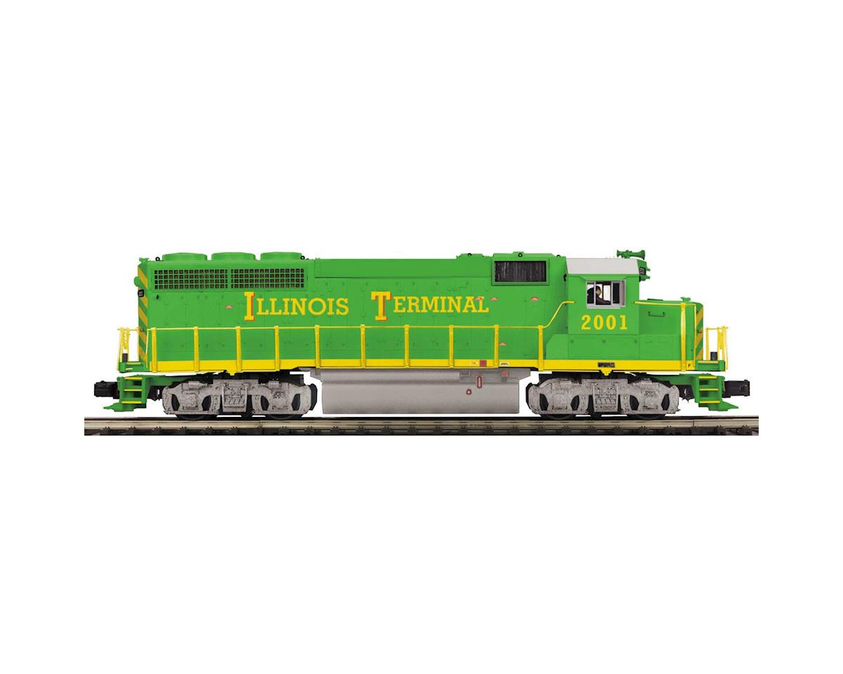 MTH Trains O Hi-Rail GP-40 w/PS3, IT #2001