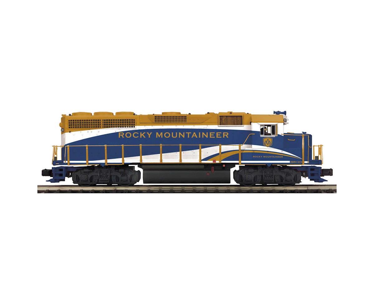 MTH Trains O Hi-Rail GP-40 w/PS3, Rocky Mountaineer #8019