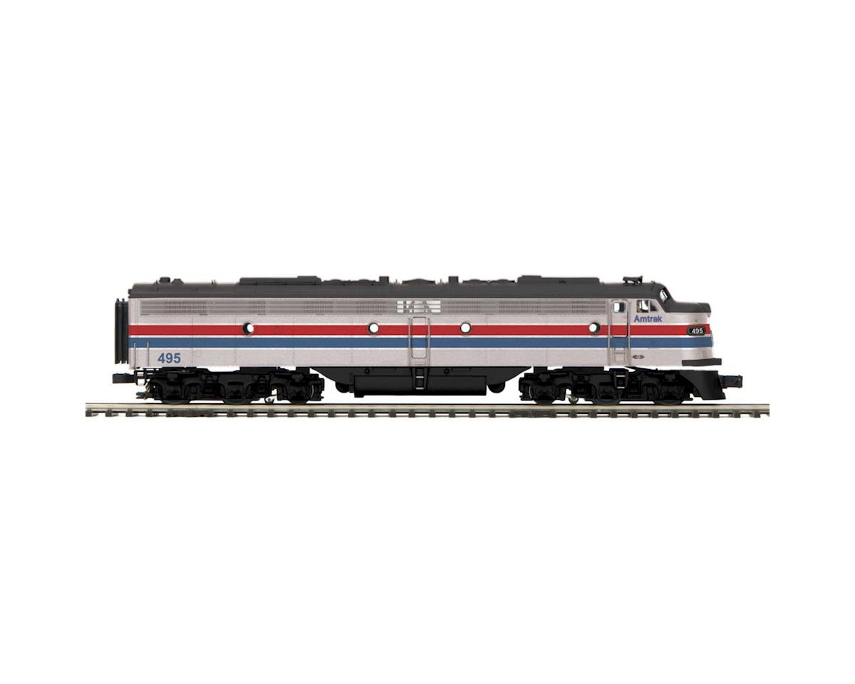 MTH Trains O Hi-Rail E8A w/PS3, Amtrak #495