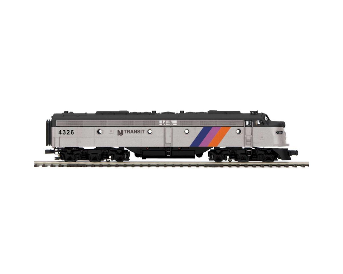 MTH Trains O Hi-Rail E8A w/PS3, NJT #4326