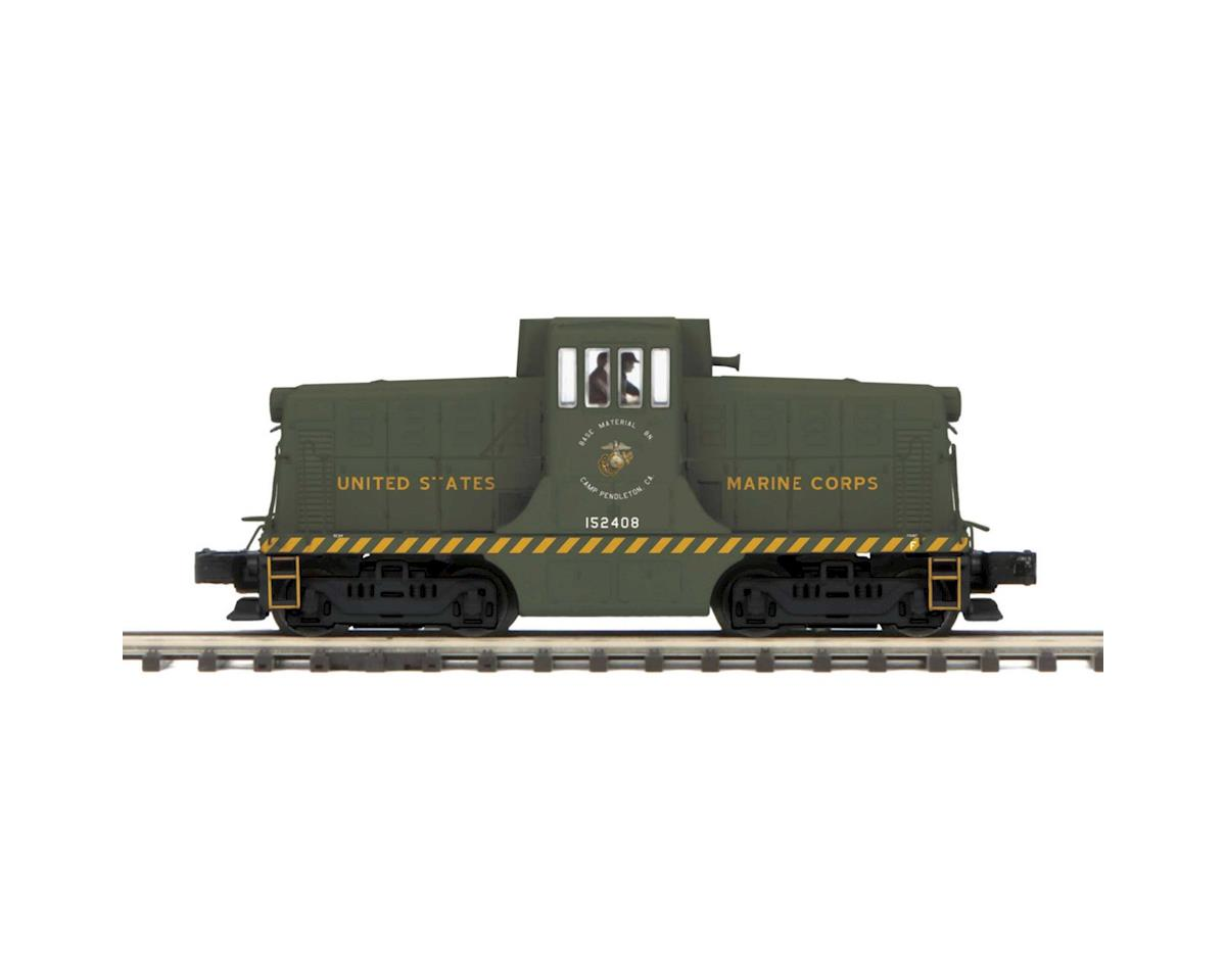 MTH Trains O Hi-Rail 44 Ton Phase 3 w/PS3, USMC #152408