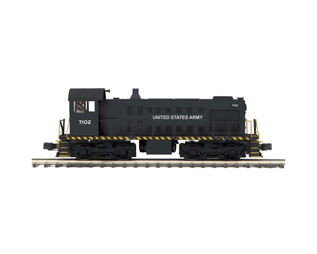 MTH Trains O Hi-Rail S-2 Switcher w/PS3, US Army #7102
