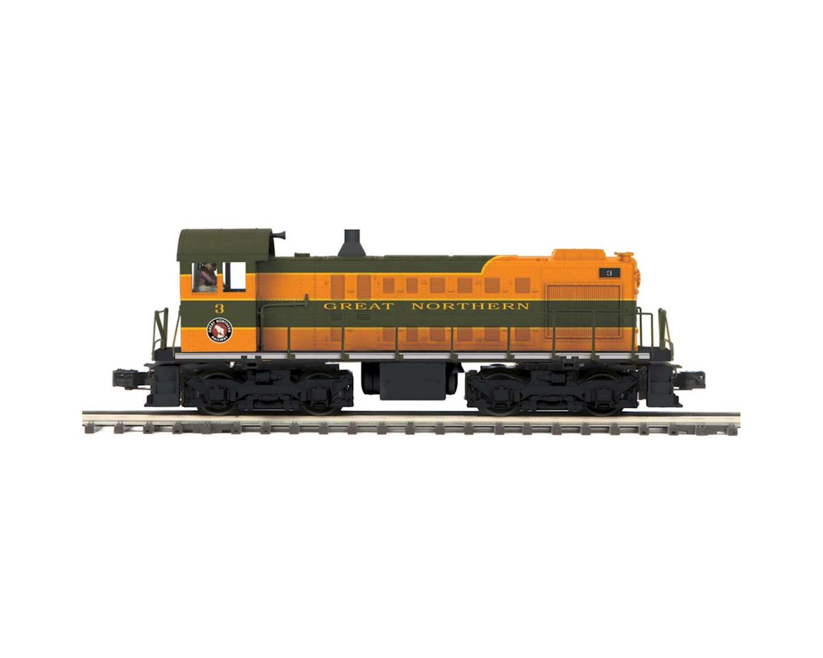MTH Trains O Hi-Rail S-2 Switcher w/PS3, GN #3