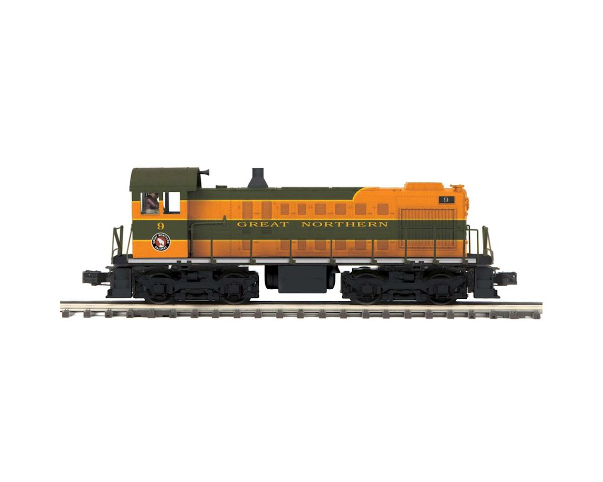 MTH Trains O Hi-Rail S-2 Switcher w/PS3, GN #9