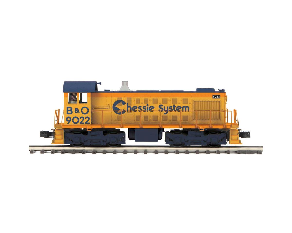 MTH Trains O Hi-Rail S-2 Switcher w/PS3, Chesie #9022