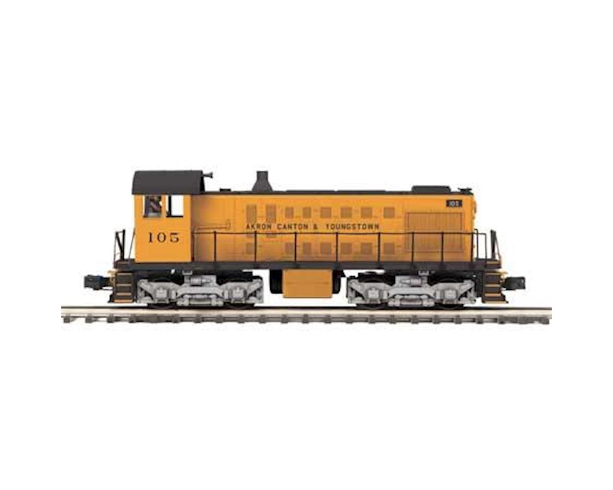 MTH Trains O Hi-Rail S-2 Switcher w/PS3, AC&Y #105