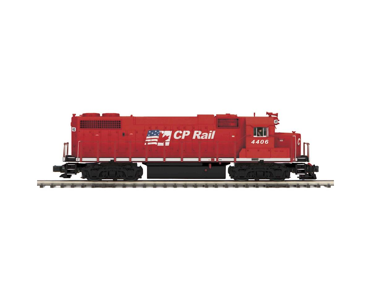 MTH Trains O Hi-Rail GP38-2 w/PS3,  CPR #4406