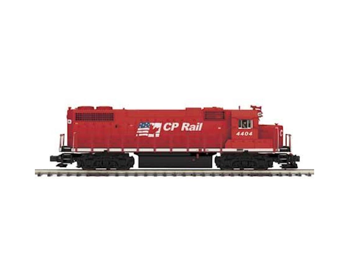 MTH Trains O Hi-Rail GP38-2 w/PS3,  CPR #4404