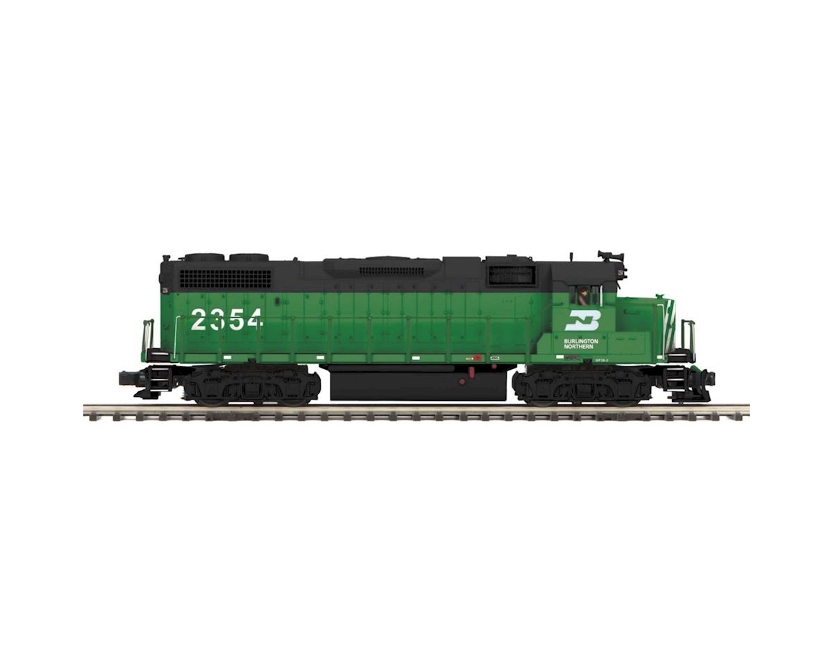 MTH Trains O Hi-Rail GP38-2 w/PS3,  BN #2354