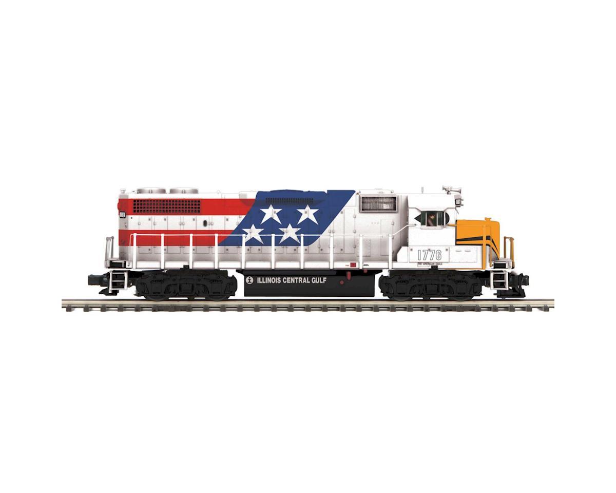 MTH Trains O Hi-Rail GP38-2 w/PS3, ICG #1776