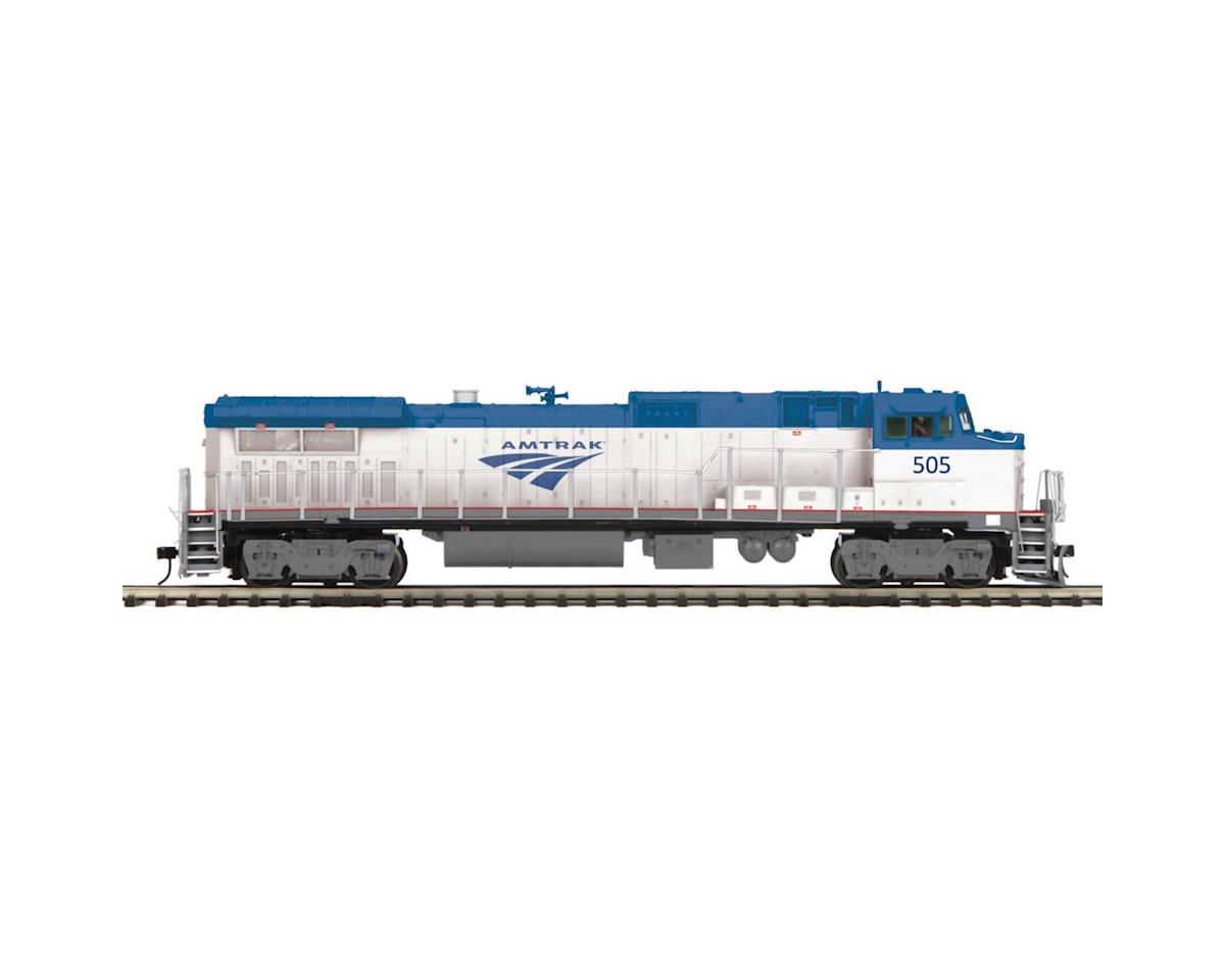 MTH Trains O Hi-Rail Dash 8-40BW w/PS3, Amtrak #505