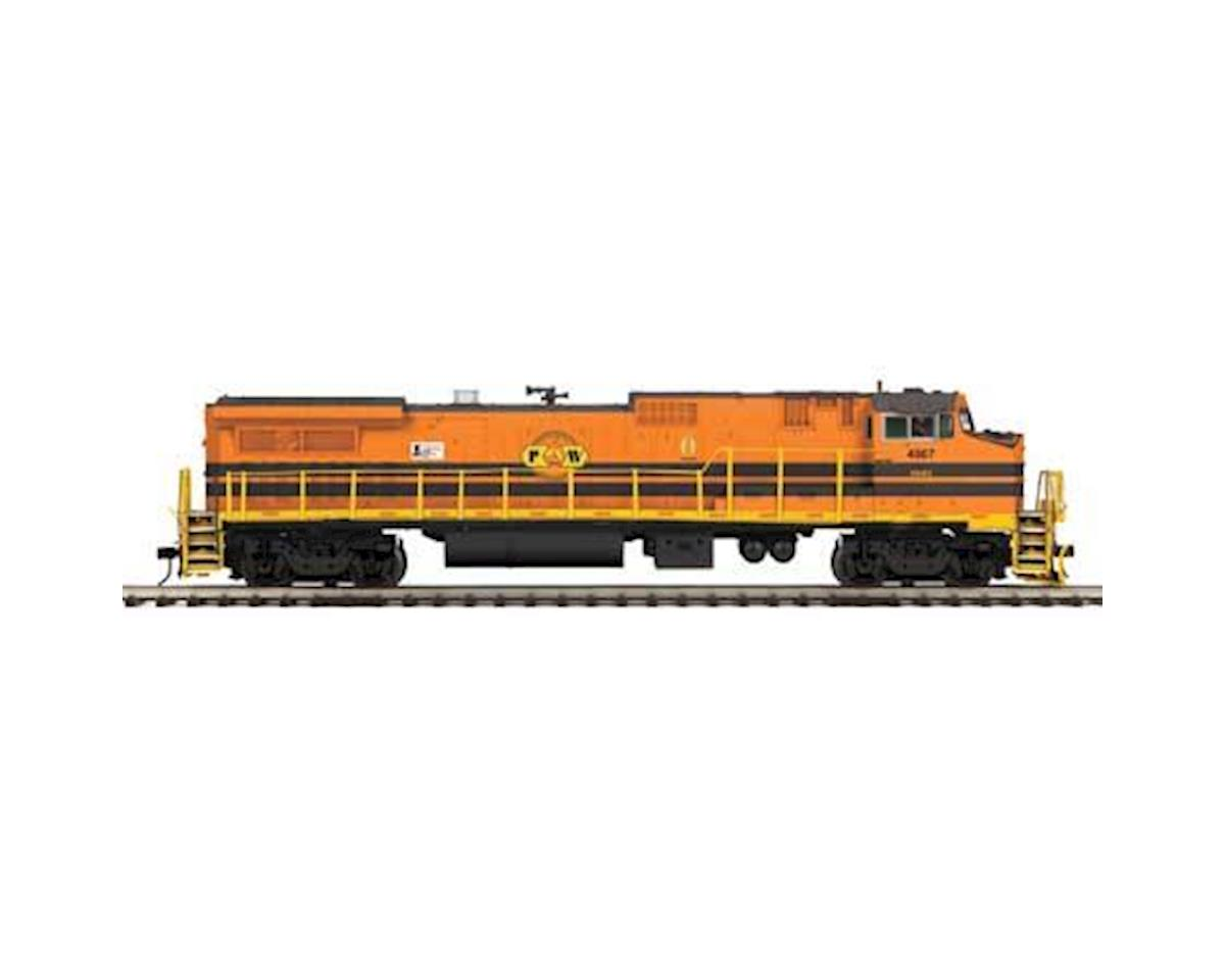 MTH Trains O Hi-Rail Dash 8-40BW w/PS3, P&W #4007