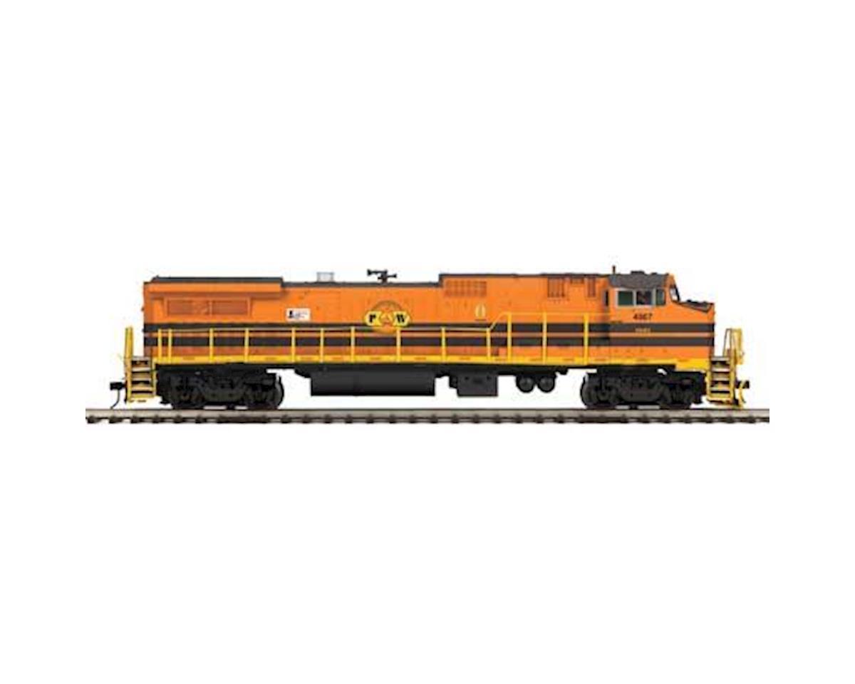 MTH Trains O Hi-Rail Dash 8-40BW w/PS3, P&W #4007