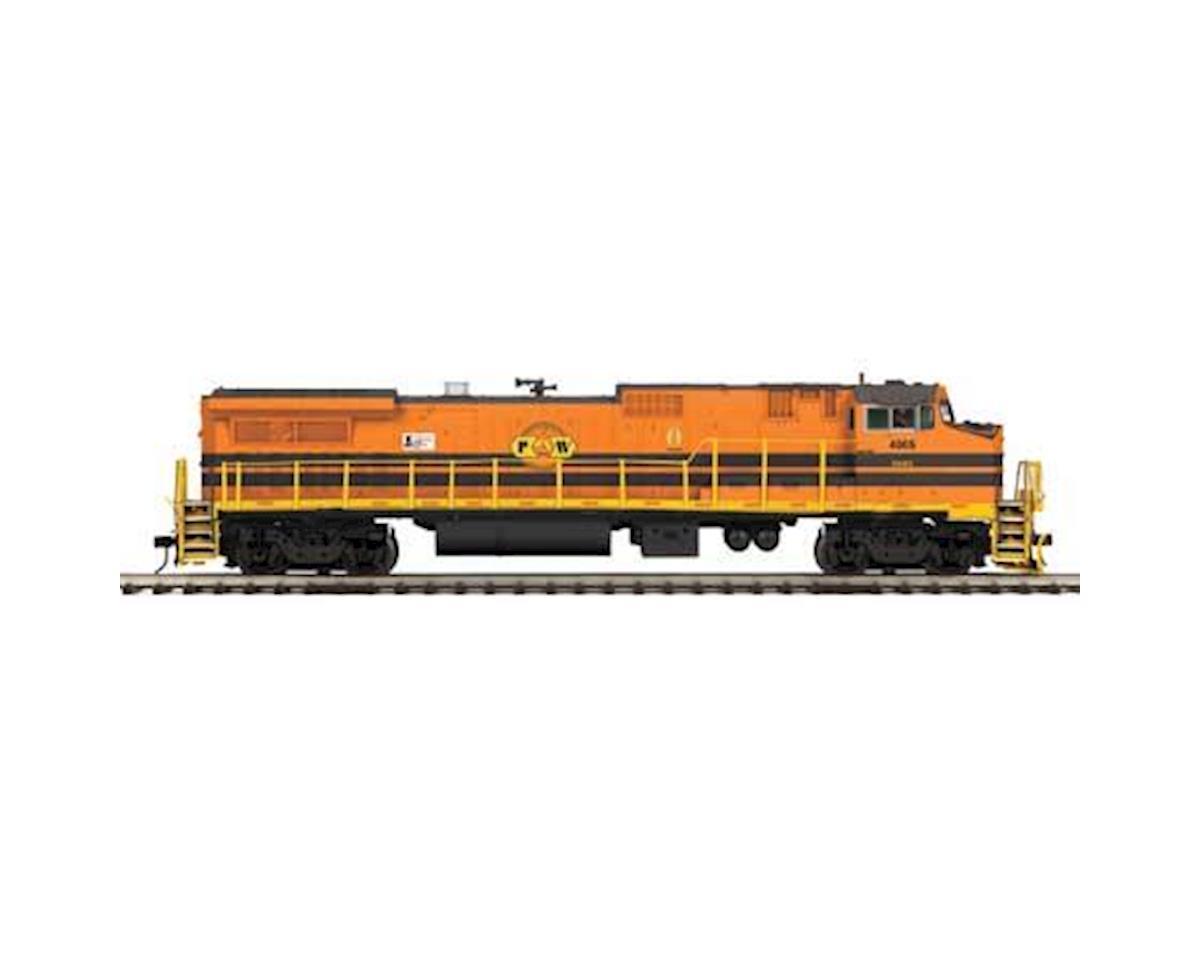 MTH Trains O Hi-Rail Dash 8-40BW w/PS3, P&W #4005