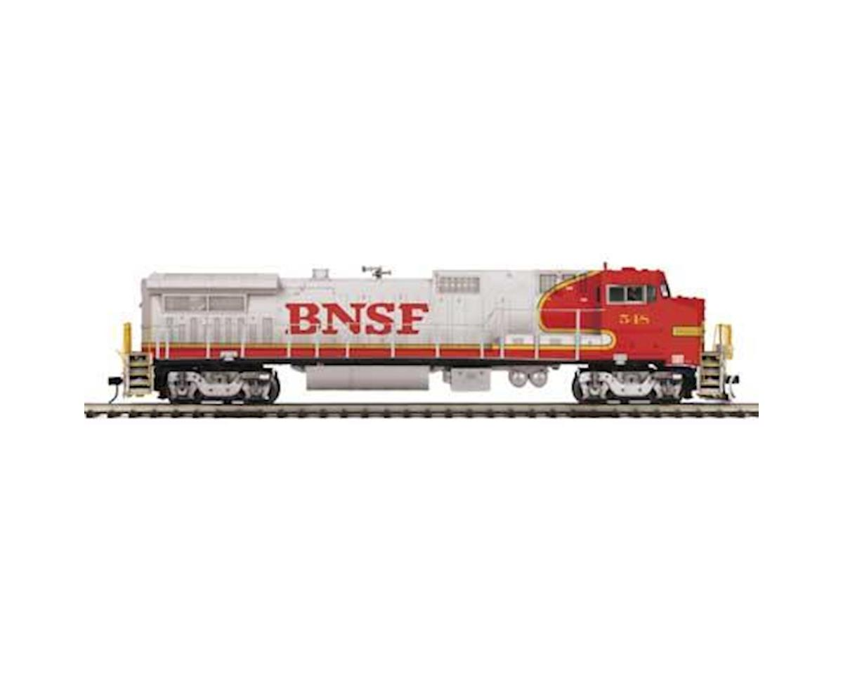 MTH Trains O Hi-Rail Dash 8-40BW w/PS3, BNSF #548