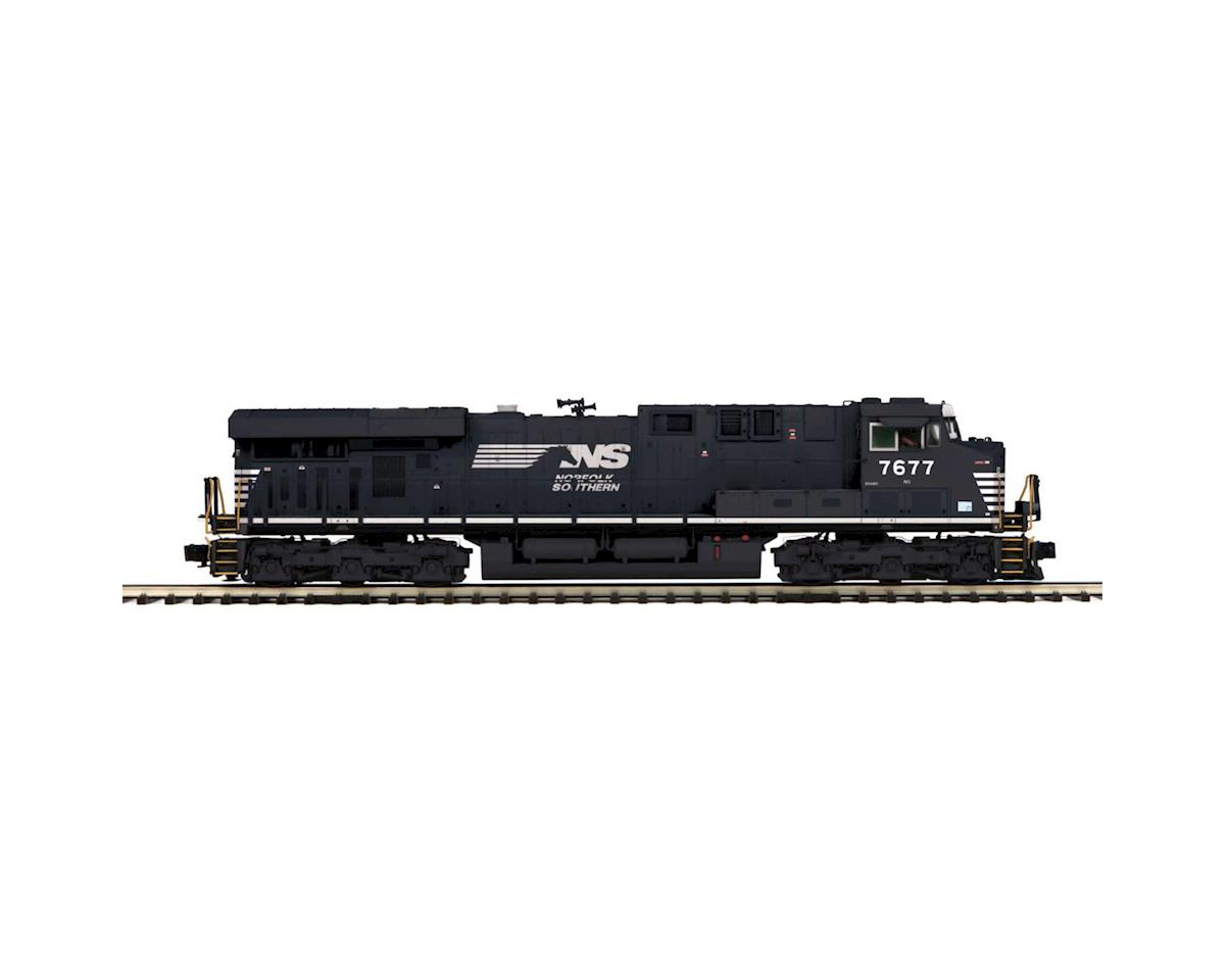 MTH Trains O Hi-Rail ES44DC w/PS3, NS #7677