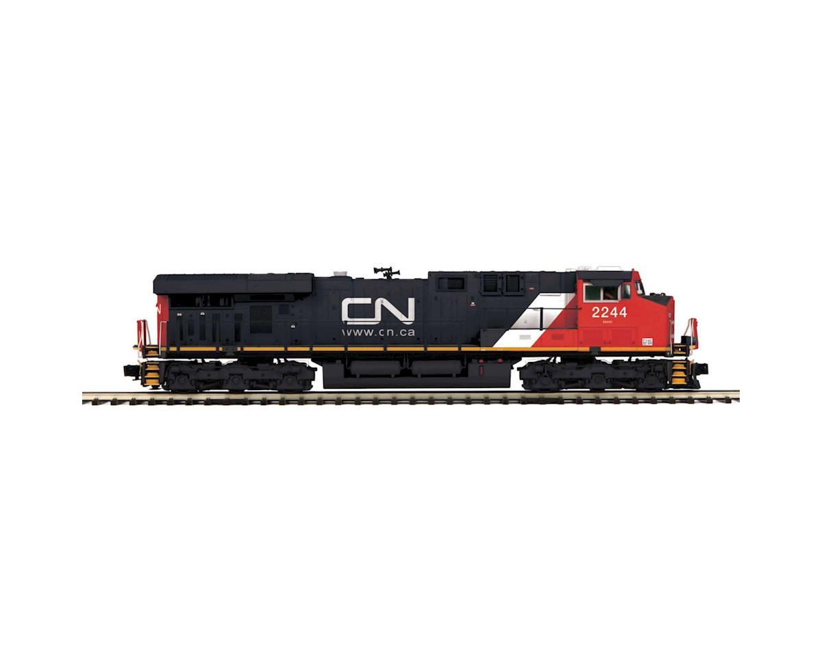 MTH Trains O Hi-Rail ES44DC w/PS3, CN #2244