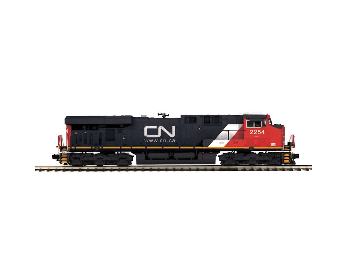 MTH Trains O Hi-Rail ES44DC w/PS3, CN #2254