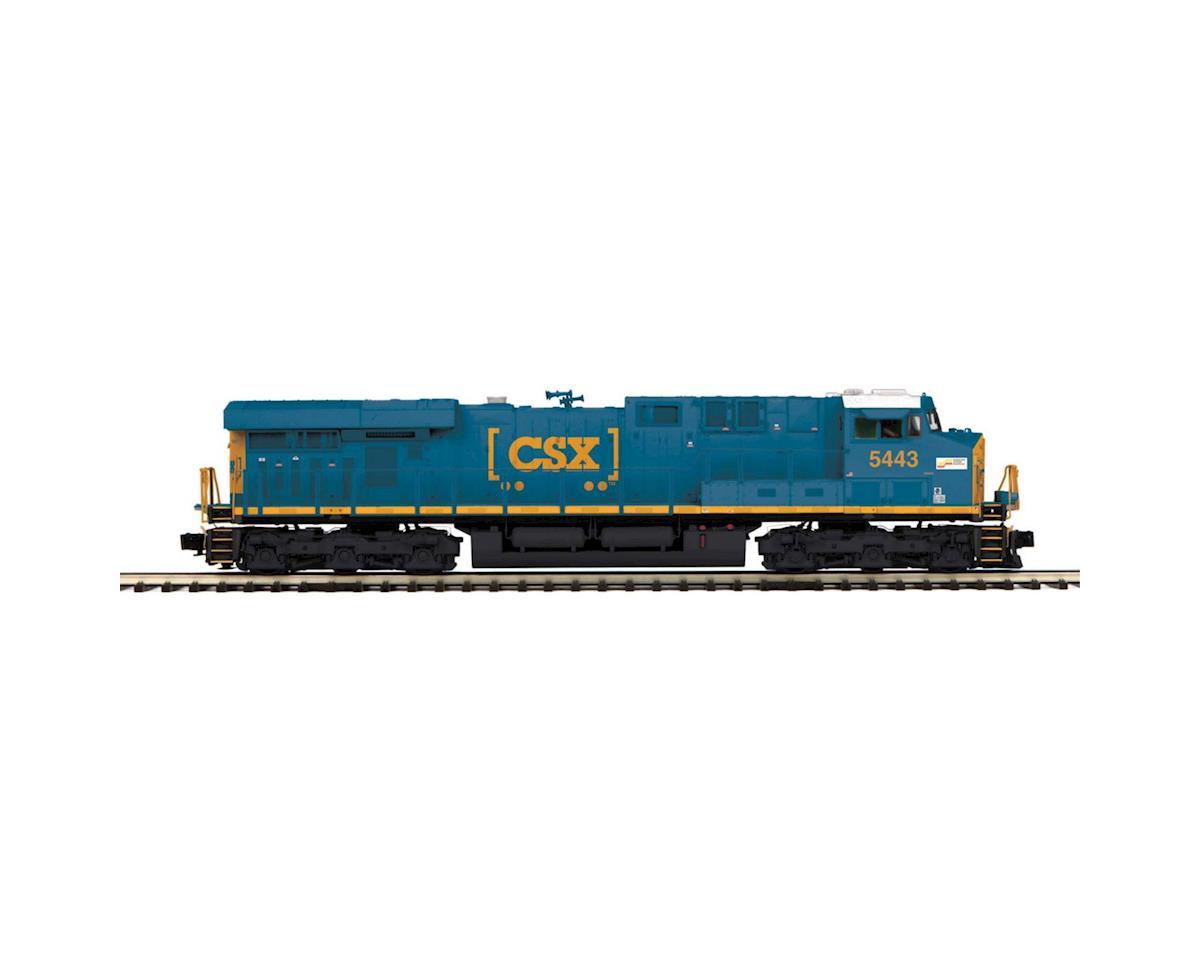 MTH Trains O Hi-Rail ES44DC w/PS3, CSX #5443