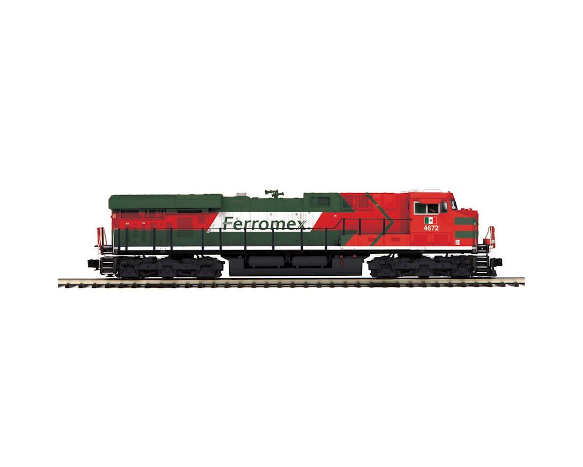 MTH Trains O Hi-Rail ES44DC w/PS3, Ferromex #4672
