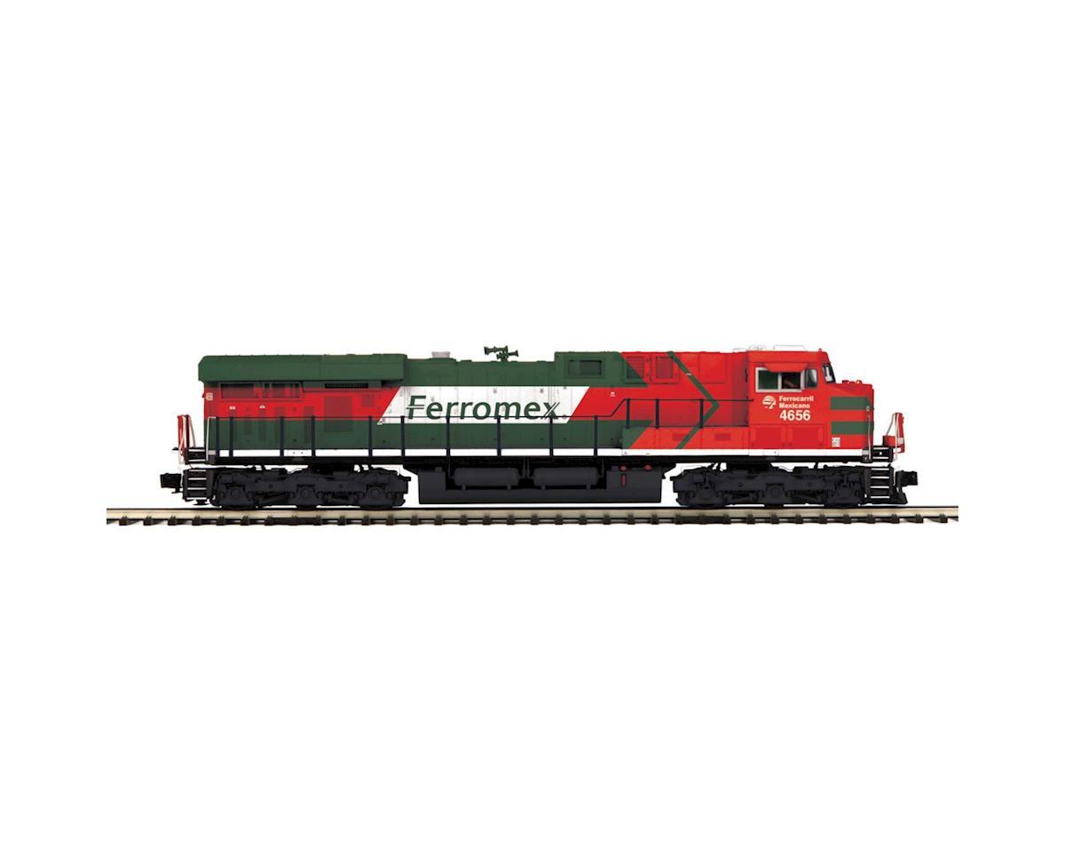 MTH Trains O Hi-Rail ES44DC w/PS3, Ferromex #4656