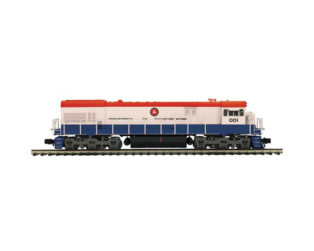 MTH Trains O Hi-Rail U30C w/PS3, DOT #1