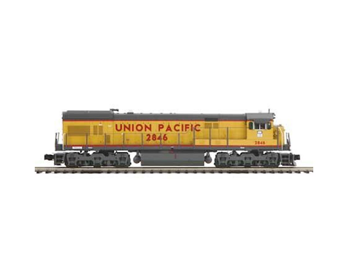 MTH Trains O Hi-Rail U30C w/PS3, UP #2846