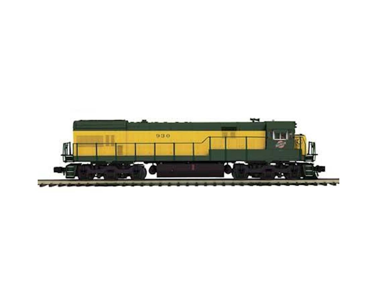 MTH Trains O Hi-Rail U30C w/PS3, C&NW #930